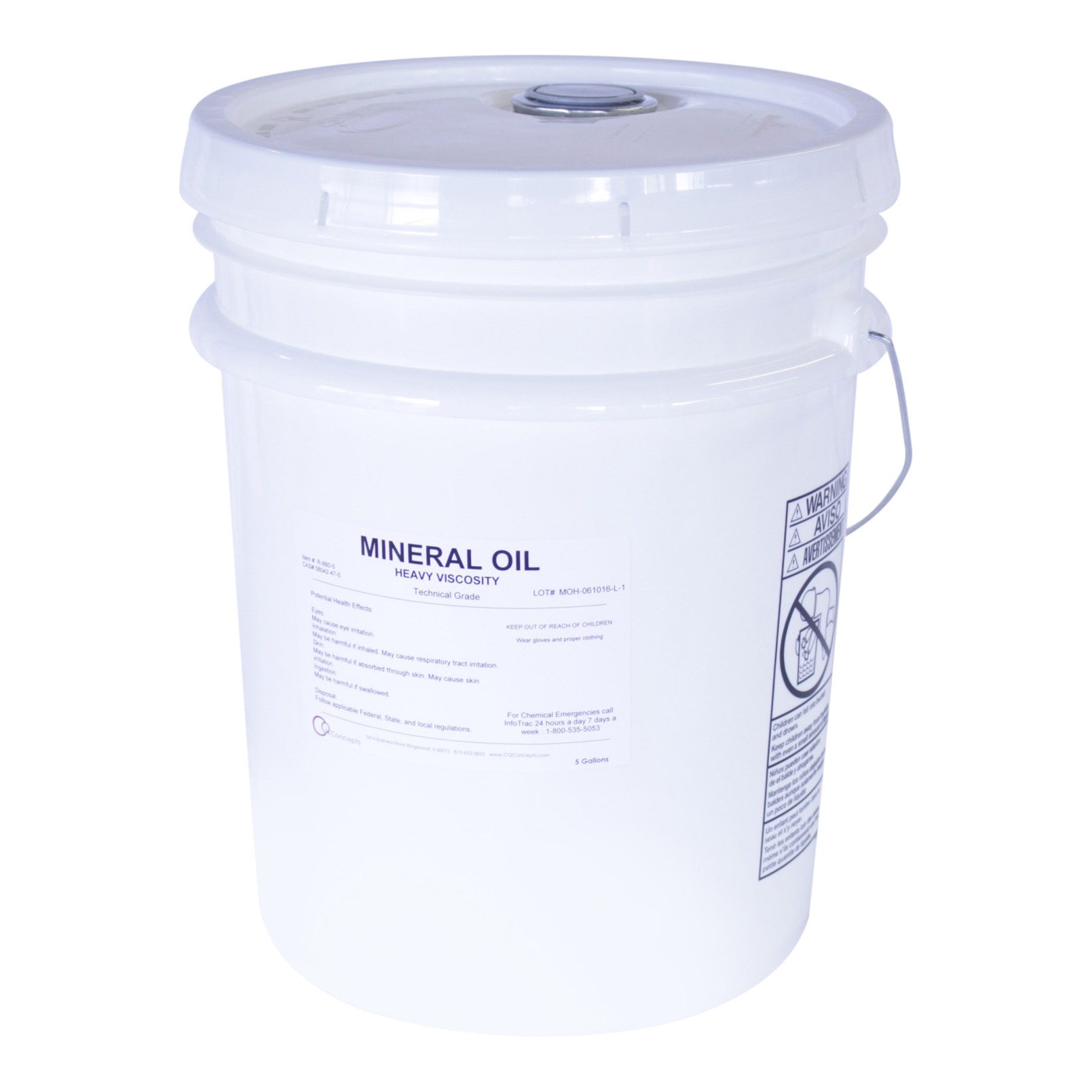 Mineral Oil Heavy Viscosity- 5 Gallons
