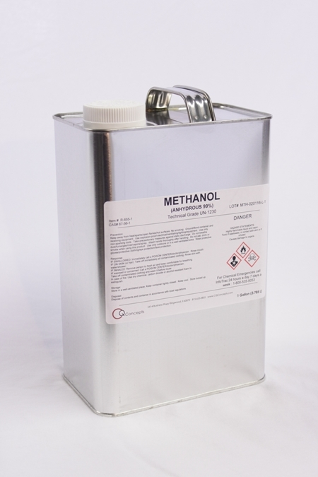 Ethylene Glycol Antifreeze >> Methanol 99%- 1 Gallon – CQ Concepts