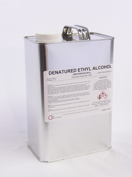 Denatured Ethyl Alcohol 1